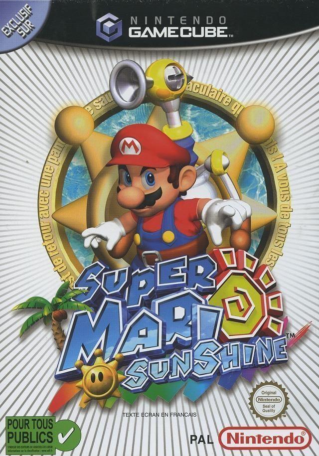 Super Mario Sunshine-classique de la nintendo GameCube, se réunit aujourd