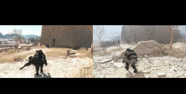 A user compares the scenarios of Metal Gear Called Metal Gear Solid V