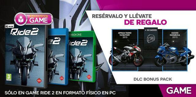 GAME reveals their incentives for the reserve RIDE 2
