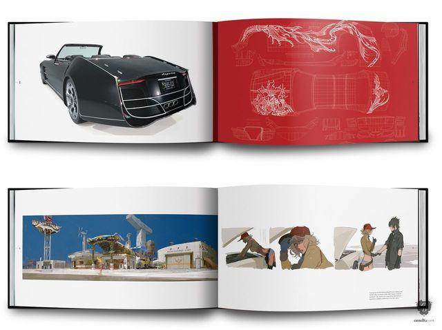 you can Already book the art book of Final Fantasy XV