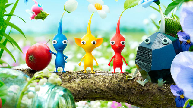 Conoce a los diversos tipos de Pikmin en el nuevo tráiler de Pikmin 3