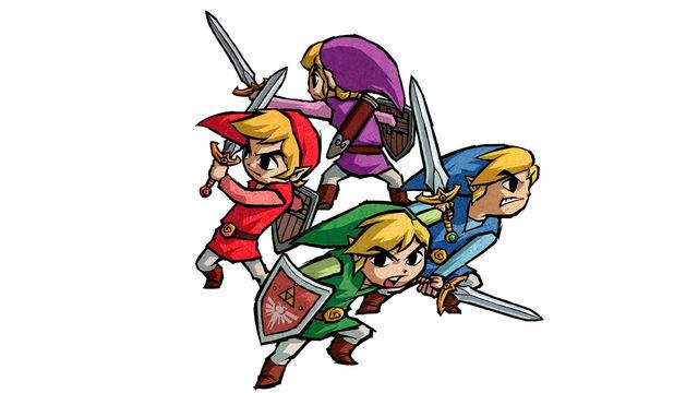 The Legend of Zelda: Four Swords, descargable en septiembre