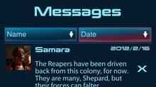 Pantalla Mass Effect: Datapad
