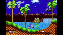 Pantalla 3D Sonic the Hedgehog eShop