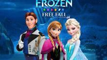 Pantalla Frozen Free Fall: Batalla de bolas de nieve