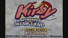 Imagen 1 de Kirby: Nightmare In Dream Land CV
