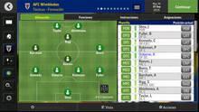Pantalla Football Manager Mobile 2016