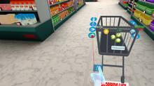 Pantalla Supermarket VR and mini-games