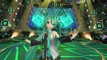 Pantalla Hatsune Miku: VR Future Live