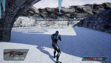 Pantalla Cyborg Invasion Shooter