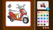 Pantalla My Coloring Book: Transport