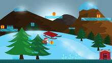 Pantalla Happy Santa