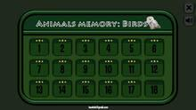 Pantalla Animals Memory: Birds