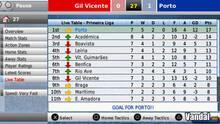 Pantalla Football Manager Handheld 2008