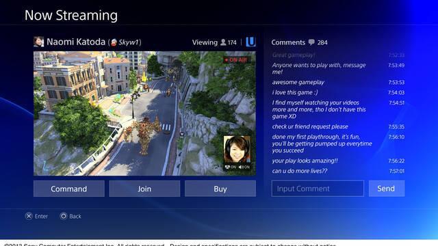 Ustream no es exclusivo de PlayStation 4
