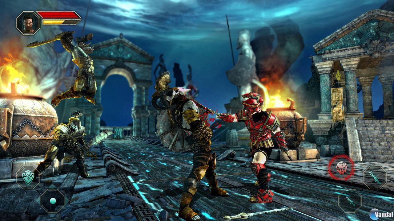 لعبه Godfire: Rise of Prometheus v1.1.3 مهكره جاهزه (قتال رهيبه)