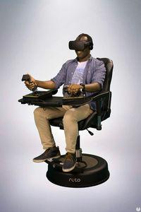 The chair for the virtual reality BROKEN VR, you will arrive at the beginning of 2017