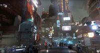 Star Citizen mostra suas enormes cidades futuristas