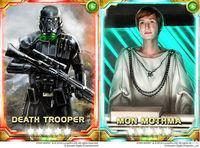 Star Wars Force Collection sum new cards for Rogue One