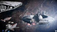 Shown officially on the way Starfighter Assault Star Wars Battlefront II