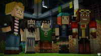 Reaches the eighth episode of Minecraft: Story Mode