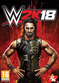 Seth Rollins is the star of the cover of WWE 2K18