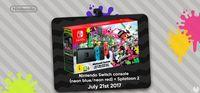 Nintendo Switch will pack with Splatoon 2