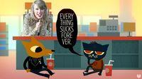 A new spot from Taylor Swift has a curious resemblance to Night in the Woods