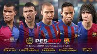 Pro Evolution Soccer 2017 introduces us to the legends of the F. C. Barcelona