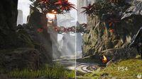Paragon displays your graphic section in PlayStation 4 Pro