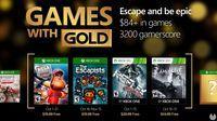 Anunciados os Jogos com Gold de outubro