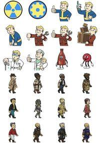 Fallout Shelter premiered stickers themed for iOS 10